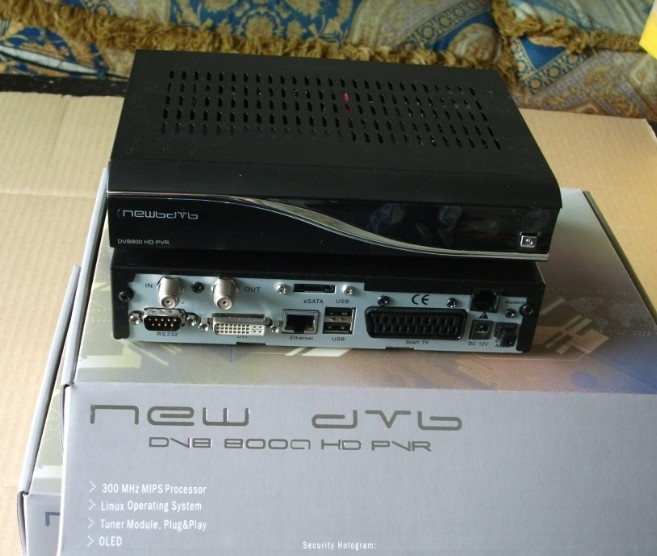 DM 8000 HD PVR dvb